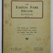 Easton 1919 Auction - Front Cover