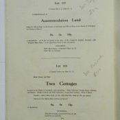 Lot 117, accomodation land & Lot 118, two cottages, Charsfie