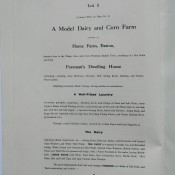 Lot 2, Model Farm, description