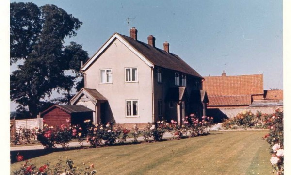 Home Farm Cottages in 1966