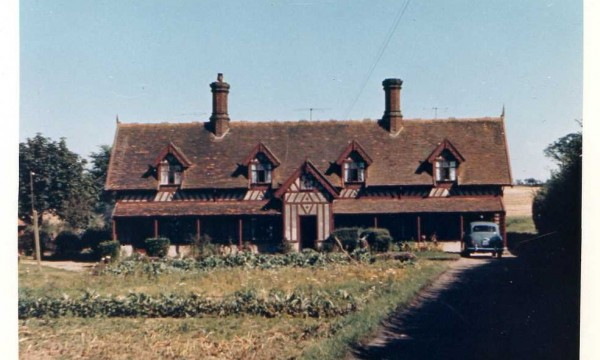 Low Barn Cottages in 1966